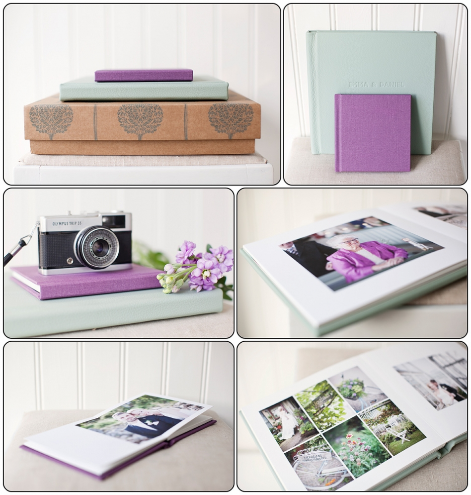 Folioalbums - printed on fine art paper